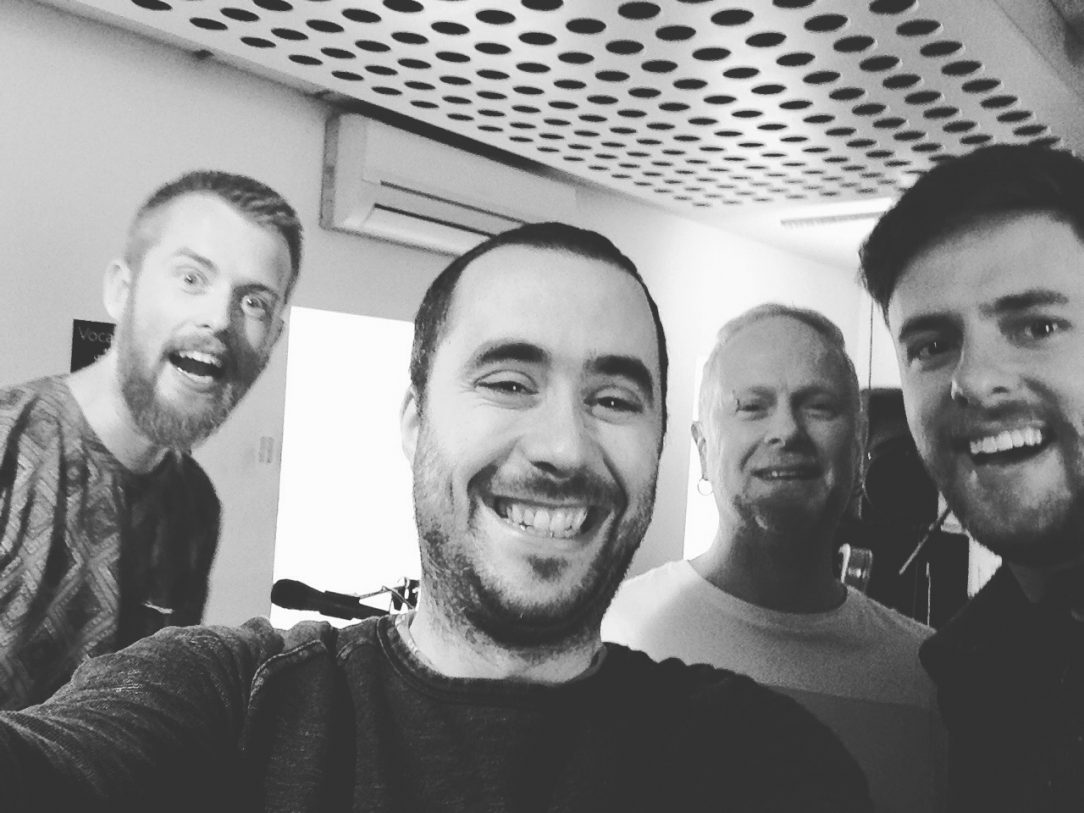 Meet the band! Jacob Stoney, Iain Ross and Fred Claridge
