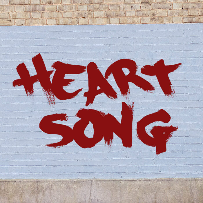Single artwork for Heart Song single from the Tell It To Me Straight series.